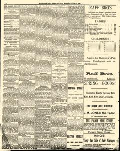 Hutchinson News, March 22, 1890, Page 2