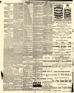 Hutchinson News, April 02, 1890, Page 4