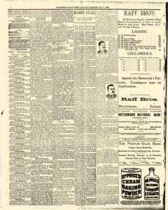 Hutchinson News, May 03, 1890, Page 1