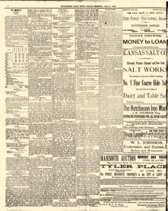 Hutchinson News, June 06, 1890, Page 8