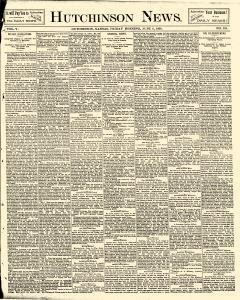 Hutchinson News, June 06, 1890, Page 1