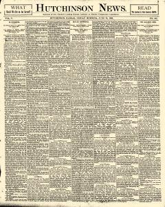 Hutchinson News, June 20, 1890, Page 1