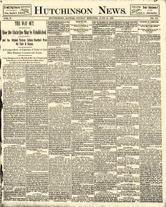 Hutchinson News, June 29, 1890, Page 1