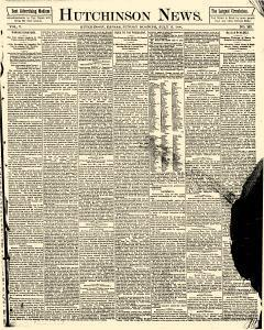 Hutchinson News, July 13, 1890, Page 1
