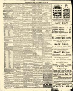 Hutchinson News, July 27, 1890, Page 2