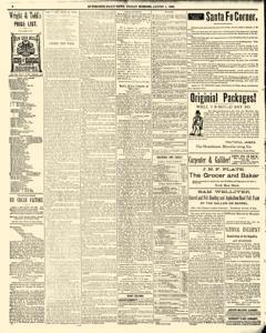 Hutchinson News, August 01, 1890, Page 6
