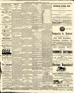Hutchinson News, August 03, 1890, Page 5