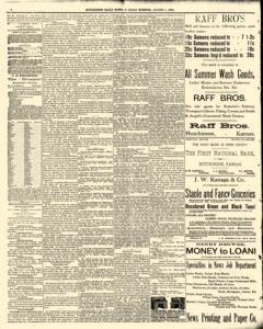 Hutchinson News, August 05, 1890, Page 2