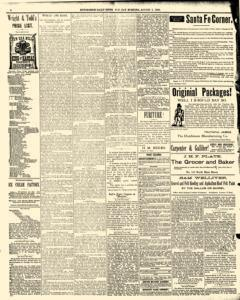 Hutchinson News, August 05, 1890, Page 4