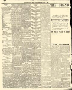 Hutchinson News, August 05, 1890, Page 6