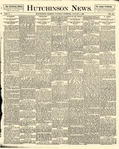 Hutchinson News, August 05, 1890, Page 1