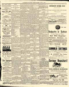 Hutchinson News, August 05, 1890, Page 3