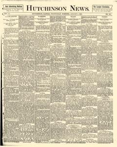 Hutchinson News, August 06, 1890, Page 1