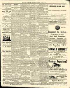 Hutchinson News, August 06, 1890, Page 5
