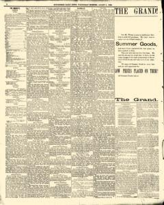 Hutchinson News, August 06, 1890, Page 8