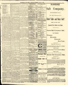 Hutchinson News, August 06, 1890, Page 3