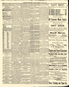 Hutchinson News, August 07, 1890, Page 4