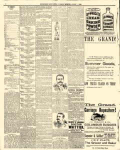Hutchinson News, August 07, 1890, Page 8