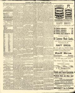 Hutchinson News, August 08, 1890, Page 4