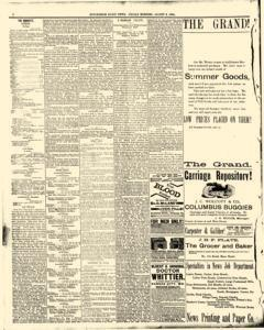 Hutchinson News, August 08, 1890, Page 8