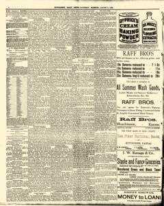 Hutchinson News, August 09, 1890, Page 4
