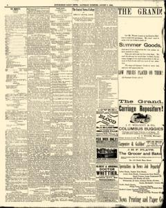 Hutchinson News, August 09, 1890, Page 8