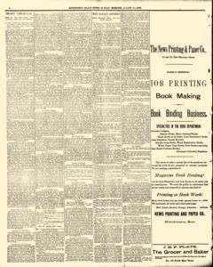 Hutchinson News, August 10, 1890, Page 2