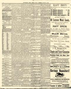 Hutchinson News, August 10, 1890, Page 4