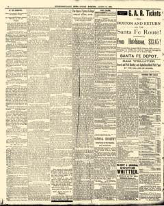 Hutchinson News, August 10, 1890, Page 6