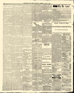 Hutchinson News, August 13, 1890, Page 6