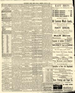 Hutchinson News, August 15, 1890, Page 4