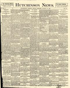 Hutchinson News, August 15, 1890, Page 1