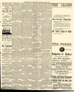 Hutchinson News, August 15, 1890, Page 5