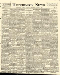Hutchinson News, August 16, 1890, Page 1