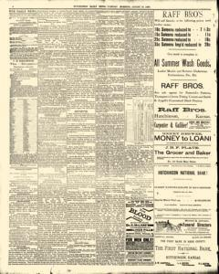 Hutchinson News, August 19, 1890, Page 4