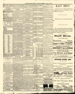 Hutchinson News, August 20, 1890, Page 4