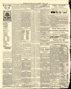 Hutchinson News, August 21, 1890, Page 6