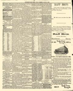 Hutchinson News, August 22, 1890, Page 4