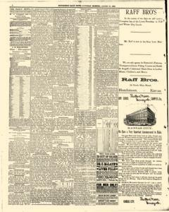 Hutchinson News, August 23, 1890, Page 4