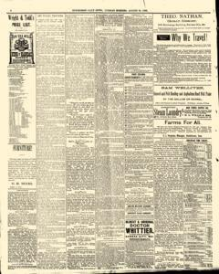 Hutchinson News, August 26, 1890, Page 6