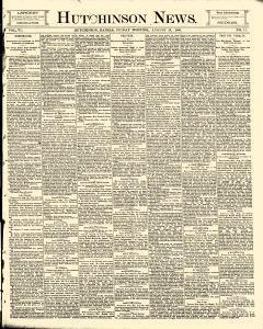 Hutchinson News, August 29, 1890, Page 1