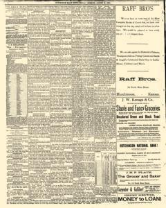 Hutchinson News, August 31, 1890, Page 4
