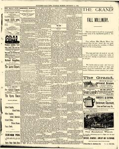 Hutchinson News, September 11, 1890, Page 5