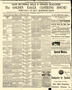 Hutchinson News, September 14, 1890, Page 4