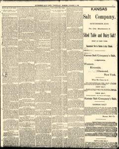 Hutchinson News, October 08, 1890, Page 3