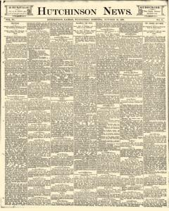 Hutchinson News, October 22, 1890, Page 1