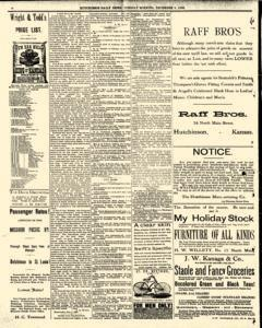 Hutchinson News, December 09, 1890, Page 6