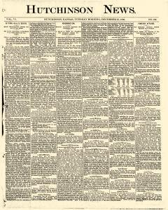 Hutchinson News, December 23, 1890, Page 1