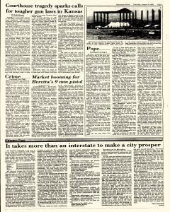 Hutchinson News, August 12, 1993, Page 5