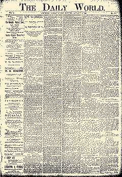 Lawrence Daily World, January 14, 1894, Page 1